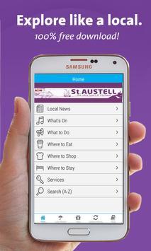 St Austell App poster