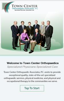 Town Center Orthopaedics poster