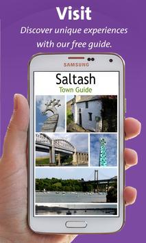 Saltash Town Guide poster