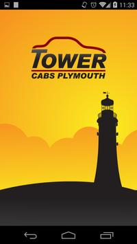 Tower Cabs Plymouth poster