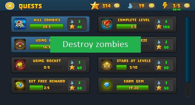 Tower Defence Zombie screenshot 3