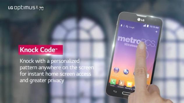 LG Optimus L70 Screensaver apk screenshot