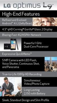 LG Optimus L9 MS769 Demo apk screenshot