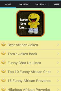African Jokes And Proverbs screenshot 1