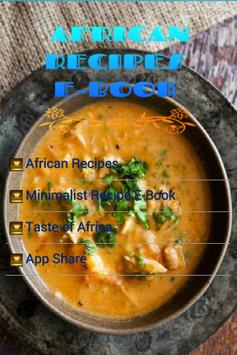 African Recipes Free E-Book apk screenshot