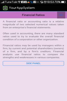 Financial Ratios (Accounts) screenshot 1