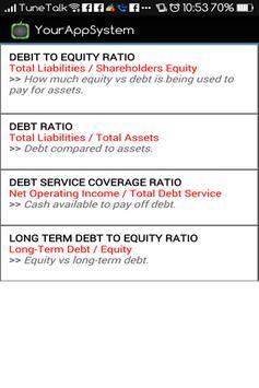 Financial Ratios (Accounts) screenshot 3