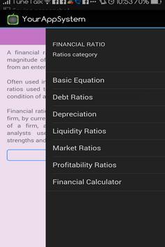 Financial Ratios (Accounts) screenshot 5