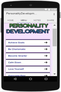 Personality Development Tips apk screenshot