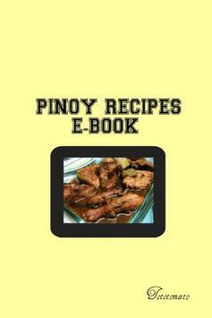 Pinoy Recipes E-Book poster