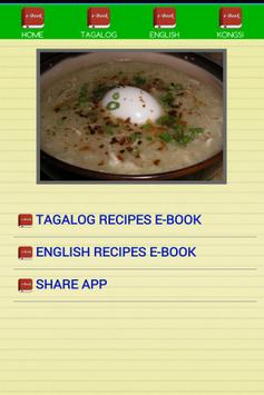 Pinoy Recipes E-Book screenshot 1