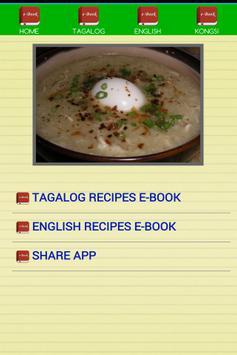 Pinoy Recipes E-Book screenshot 1