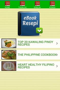 Pinoy Recipes E-Book screenshot 2