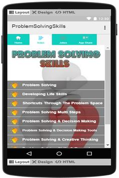Problem Solving Skills screenshot 1