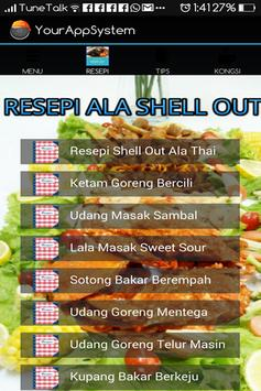 Resepi Ala Shell Out screenshot 1