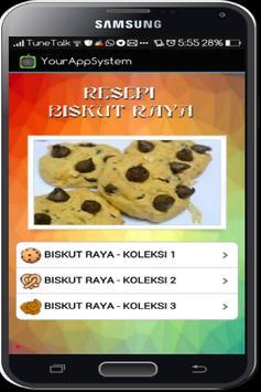 Resepi Biskut Raya screenshot 1