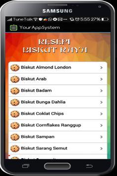 Resepi Biskut Raya screenshot 2