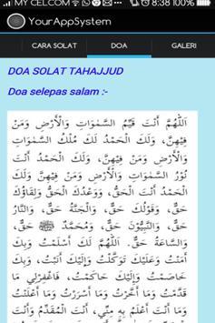 Solat Tahajjud apk screenshot