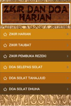 Zikir Dan Doa Harian apk screenshot
