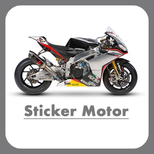 Desain Sticker Motor