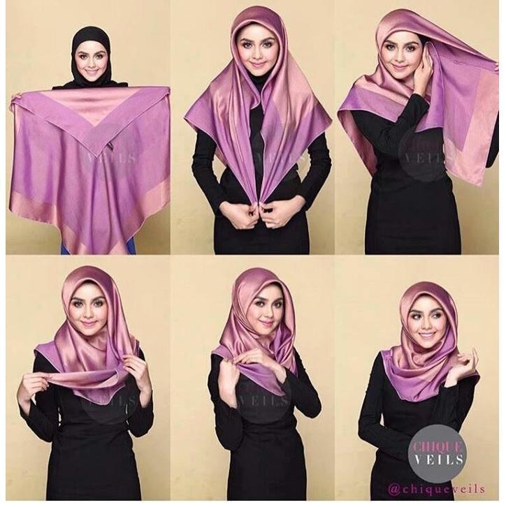 Tutorial Hijab Segi Empat Fur Android Apk Herunterladen