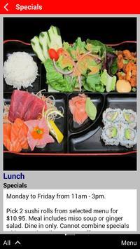 Takara Sushi & Sake Lounge apk screenshot