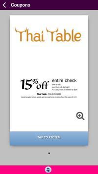 Thai Table screenshot 2