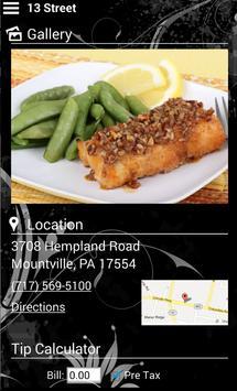 13 Street Restaurant apk screenshot