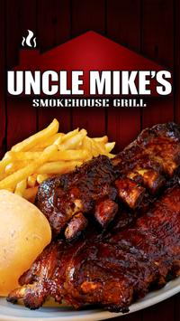 Uncle Mike's Smokehouse Grill poster