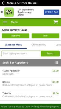 Asian Yummy House screenshot 2