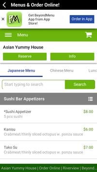 Asian Yummy House apk screenshot