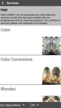 CeCe Hair & Makeup screenshot 4