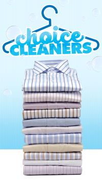 CHOICE CLEANERS poster