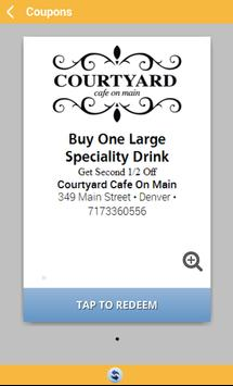 Courtyard Cafe on Main apk screenshot