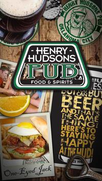 Henry Hudsons Pub poster