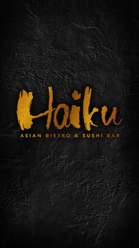 Haiku Asian Bistro Cross River poster