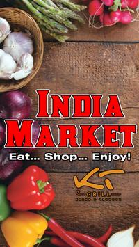 India Market poster
