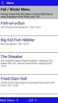 JD's Fish & Grill apk screenshot
