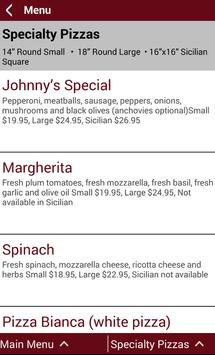 Johnny's New York Style Pizza screenshot 3
