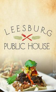 Leesburg Public House poster