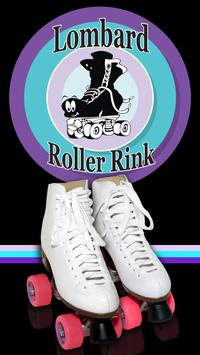 Lombard Roller Rink poster