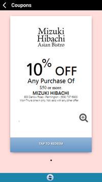 Mizuki Asian Bistro apk screenshot