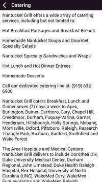Nantucket Grill & Bar apk screenshot