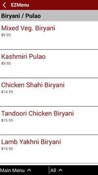 Nirvana Fine Indian Cuisine apk screenshot