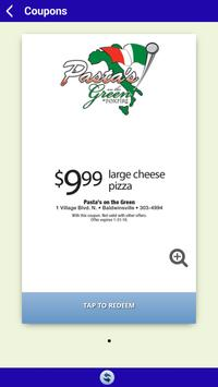 Pasta's on the Green apk screenshot