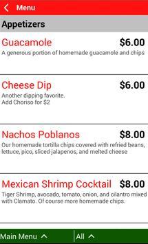 Poblanos Mexican Cuisine apk screenshot