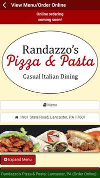 Randazzo's Pizza & Pasta apk screenshot