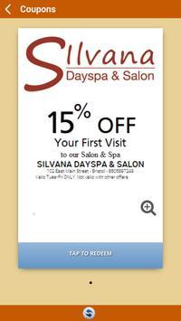 Silvana Dayspa & Salon screenshot 2