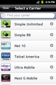 CellTonePlus Re-Ups screenshot 1