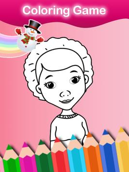 Coloring Game of Little Doctor screenshot 5